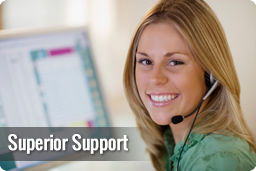 Superior Customer Support