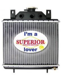 Polaris ATV Radiator - Fits: Many Models (See desc.)