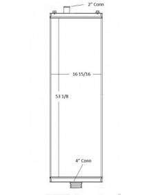 Komatsu Industrial Radiator - Fits: D375