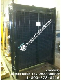 Detroit Diesel 12V-2000 (1006HP) Radiator