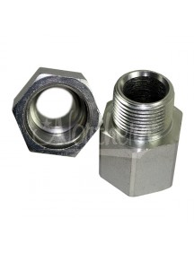 Oil Cooler Adapters for GM Truck Radiators (Set of 2)