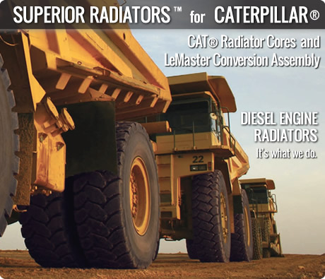 Caterpillar Industrial Radiators and Cores