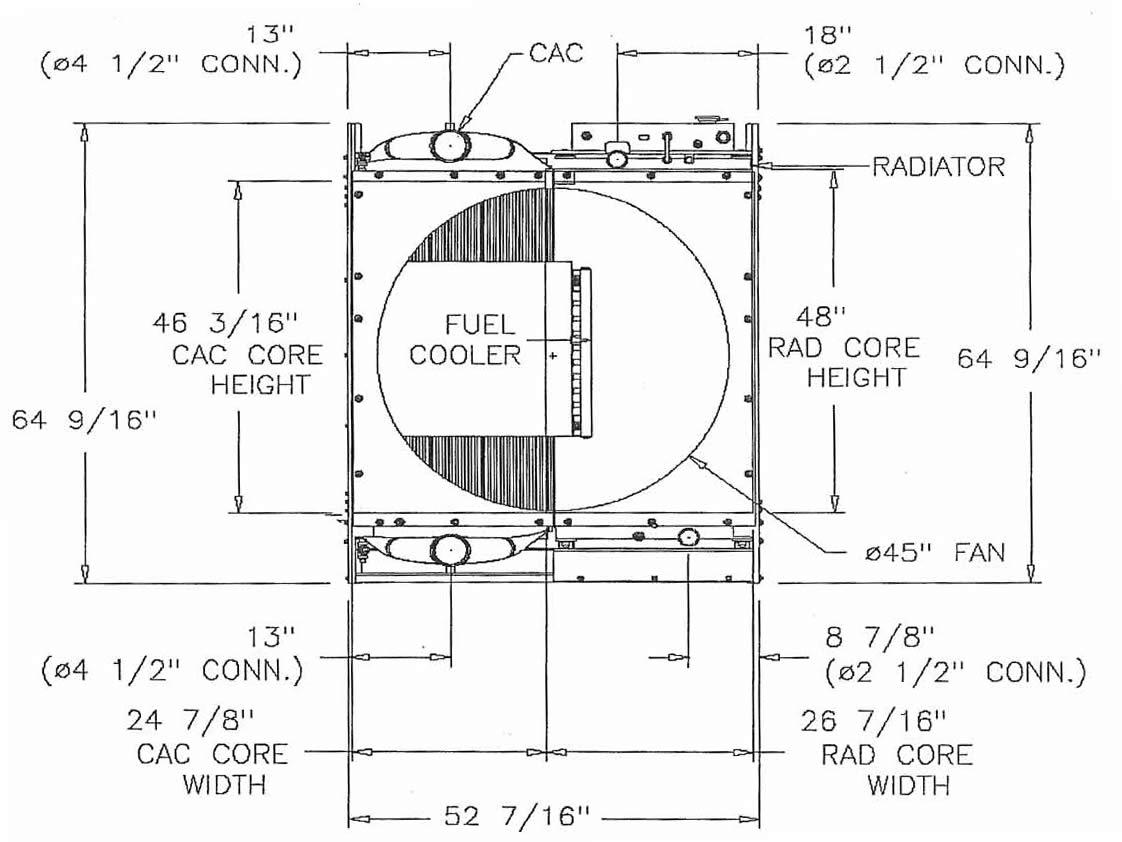 Onan / Cummins QSX15 (350 - 500 KW) Complete Industrial