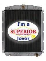 Radiator for GMC / Detroit Diesel 471 & 671 Power Unit