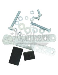 Mounting Kit for Round Tube & Fin Oil Cooler