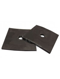Square Rubber Mount Pads - 2 per Pack