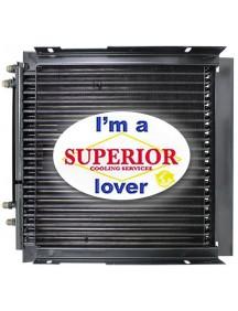 Case / IH Hydraulic Oil Cooler - Fits: 570LXT Series 2, 580L, 580L Series 2, 580SL