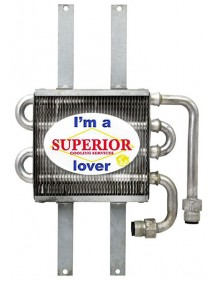 Hydraulic Oil Cooler for John Deere Mower - Fits: 2243, F710, F725, F735
