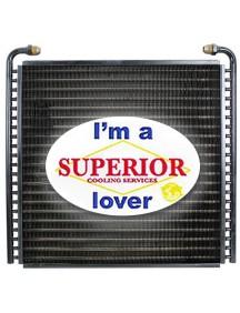 Oil Cooler for Case Skidsteer - Fits: 420, 420CT, 430, 440, 440CT