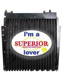 100725A1, A190640 - Engine Oil Cooler for Case / IH Backhoe - Fits Model: 590 Turbo