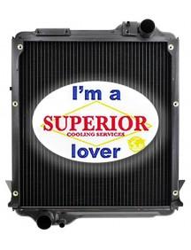 Massey Ferguson Tractor Radiator - Fits: 6265, 6270, 6280, 6290