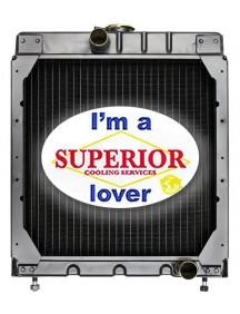 Gehl Skid Steer Radiator - Fits: HL4400, HL4500, HL4600, HL4700, SL3825, SL4500, SL4510, SL4525 (GAS), SL4610, SL4615, SL4625, SL4525SX, 4520