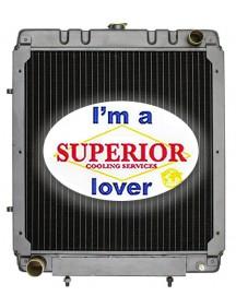 Gehl Skid Steer Radiator - Fits: 6625DX, 6625SX, SL5625, SL6625