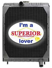 Gehl Skid Steer Radiator - Fits: SL4525, SL4625, SL4625DX, SL4625SX