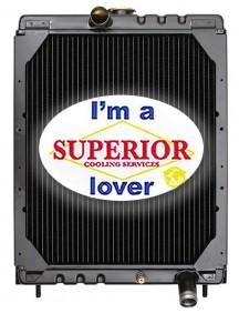 Gehl Skid Steer Radiator - Fits: 4625, SL4525, SL4625, SL4625DX, SL4625SX