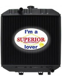 Case / IH Skidsteer Radiator - 1818, 1825 - OE Part # A173836
