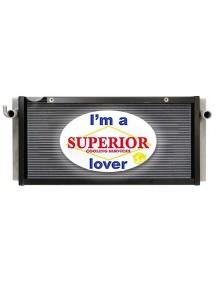 Bobcat Radiator - Fits: S150, S150G, S160, S160G, S175, S185, S205, T180, T180G, TB85, TB90, TB100, TB110, TB120, T190 (All Aluminum)