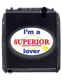 Massey Ferguson Radiator - Fits: 8140, 8150, 8160