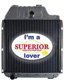 Massey Ferguson Tractor Radiator - Fits: 3070, 3090, 3095, 3120, 3120T