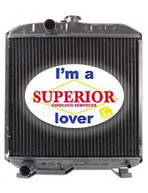 Kubota Tractor Radiator - Fits: L2250DT, L2250F, L2250G, L2250ST, L2250TOW, L2250DTGST, L2550