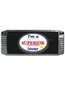 Bobcat Radiator - Fits: 642, 642B, 643, 722, 742, 742B, 743