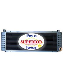 Bobcat Radiator - Fits: 843 & 2000 Wheel Loader