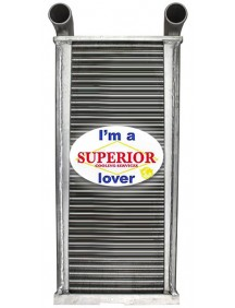 John Deere Charge Air Cooler - Fits: Several Combine Models (See Details)