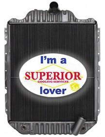Bluebird / International Radiator - Fits: 4700, 4900, 8000 Series