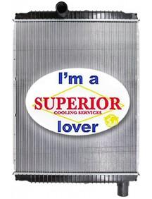 International / Navistar Radiator - Fits: 8600, 8600i, 9100, 9100i, 9200, 9200i, 9400, 9400i, 9900i