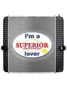 International / Ford Truck Radiator - Fits: F650, F750, 3000, 3600, 3800, 4100-4600