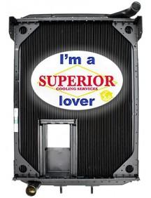 Autocar Xpeditor Radiator - Fits: WX Sanitation Trucks