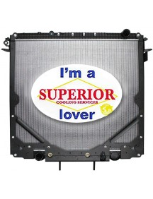Freightliner Radiator - Fits: 114SD (with Frame)