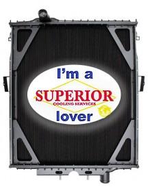 Peterbilt Truck Radiator - Fits: 379 EXHD - 0706657A073