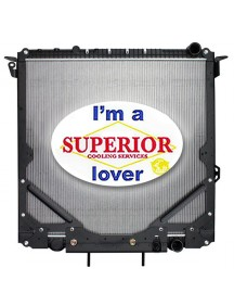 Freightliner Truck Radiator - Fits: Cascadia  (With Frame)