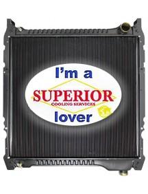 Ford / Sterling Truck Radiator - Fits: B500, B600, B700, B800, F600, F700, F800