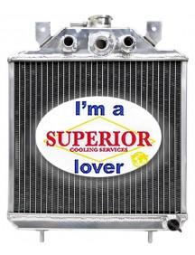 Polaris ATV Radiator - Fits: Big Boss, Magnum, Scrambler, Sport, Sportsman, Trail Blazer & Xplorer