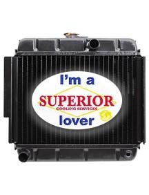 John Deere ATV Radiator - Fits: 4x2 Gator, TrailGator, Diesel Gator, Military 6x4 M-Gator