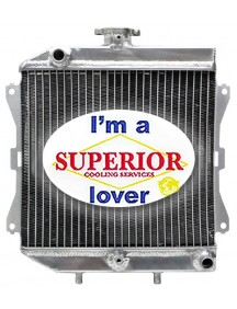 Honda ATV Radiator - Fits: 4x4 Foreman, Rancher, TRX420 - 19010HP5601