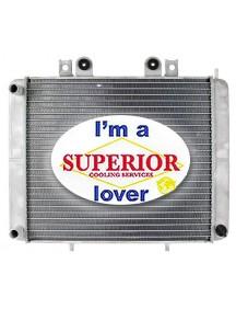 Polaris ATV Radiator - Fits: Sportsman 600 & 700 - 1240103, 1240534