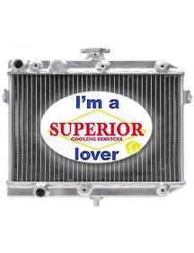 Suzuki ATV Radiator - Fits: 4x4 King Quad LT-A450, LT-A500 & LT-A750