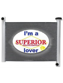 Polaris ATV Radiator - Fits: 4x4 Sportsman 550 & 850