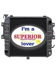 Komatsu • Allis Chalmers • Kalmar Forklift Radiator - Part # 3EA04F2210, 4968970