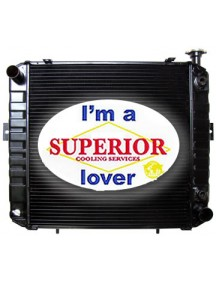 Komatsu & Allis Chalmers Forklift Radiator - Part No: 3ED-04-33210