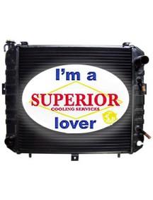 Komatsu Forklift Radiator - FiTS: 4-6000 LB Lift
