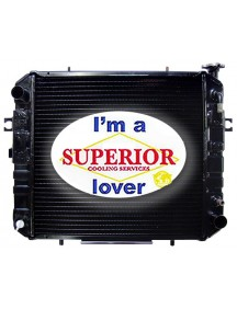 Toyota Forklift Radiator - Part # 16410F104071