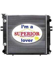 MCFA • Mitsubishi • Caterpillar Forklift Radiator - Part # 91E0100010, 91E0110010
