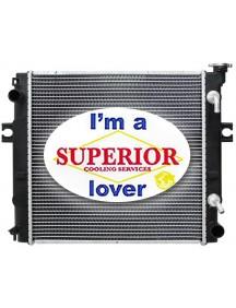 Toyota Forklift Radiator - Square Wave Fin - 16410U220071 & More