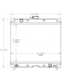 Bobcat Radiator - Fits: MT52 - 6682991