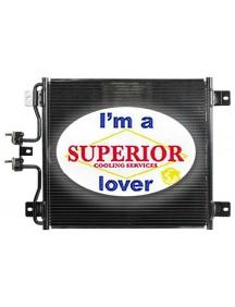 International / Navistar Condenser - Fits: 7000 to 7700 Series & Ford F650, F750