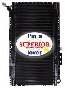 GM / Isuzu Condenser - Fits: T7500, 8500 Tiltmaster, Isuzu FTR T6500 & FVR T7500